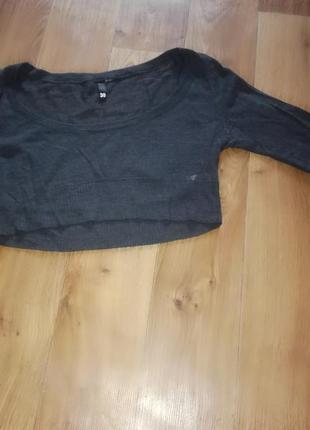Укороченый свитерок h&m