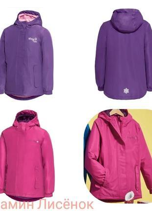 Зимова термо куртка crivit без флiсового утеплення