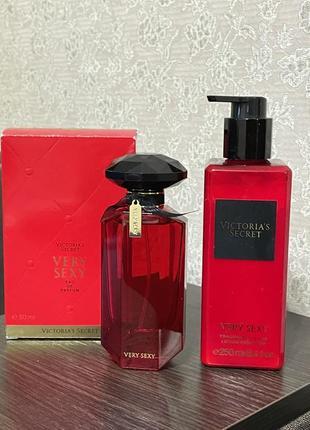Набор very sexy victoria's secret духи+лосьон для тела
