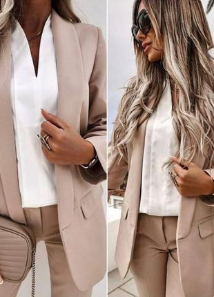 Пиджак базовый классический 👍лидер продаж👍