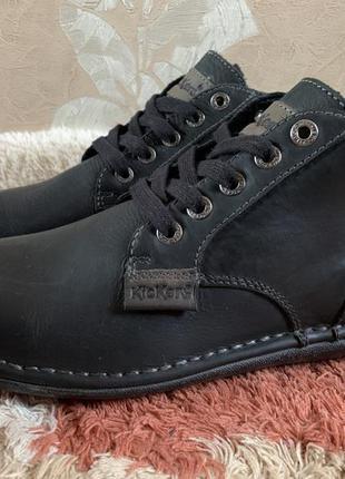 Туфли ботинки демисезонные kickers