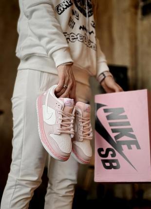 Nike air jordan pink кроссовки женские