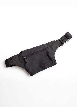 Сумка на пояс cotton bags, черная