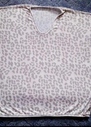 Фуболка леопардовий принт