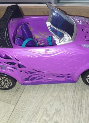 Машина для кукол монстер хай.