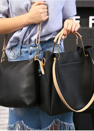 Большая сумка + клатч