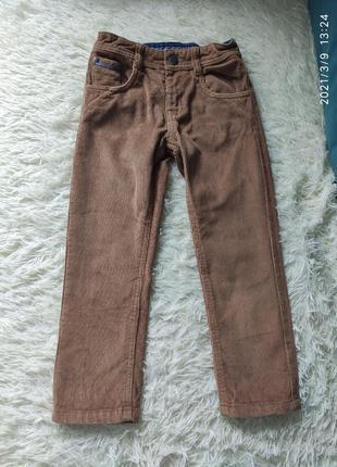 Вельветовые штаны mothercare