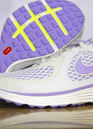 Nike lunarswift womens running shoe  white purple