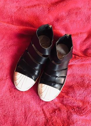 My grey италия кожаные туфли кеды