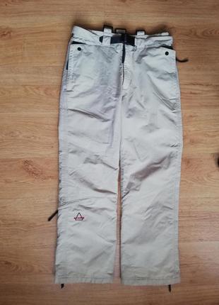 (90 см.) фирменные лыжные сноубордические штаны sos (швеция)