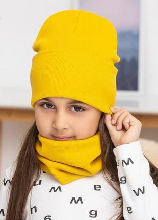 Комлект шапка хомут