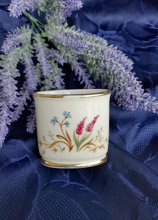 Антиквариат! eschenbach bavaria-germany ваза фарфор ручная роспись позолота германия