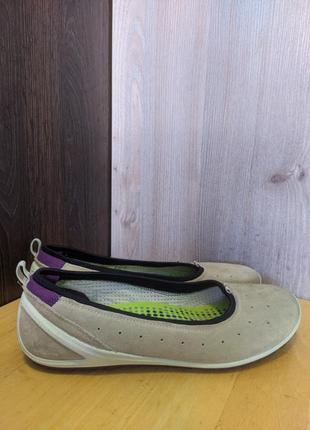 Туфли кожаные ecco biom