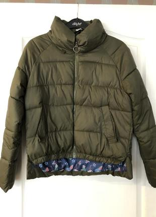 Куртка хаки на синтепоне