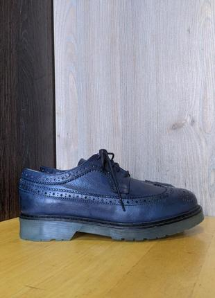 Туфли брогги кожаные red creatyve