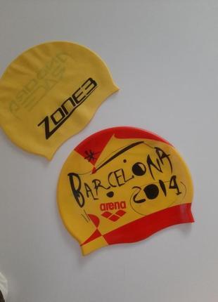 Шапочка для плавания arena zone3 на 5-7лет