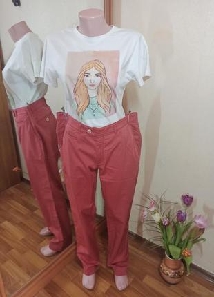 Шикарные качественные брюки штаны стрейч  feel good brax премиум качество