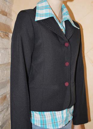 Школьный пиджак для девочки red marine, корея 140-146