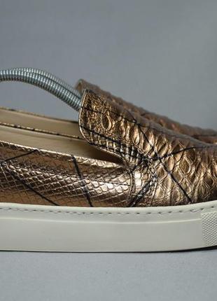 Navyboot мокасины слипоны туфли кожаные. швейцария. португалия. оригинал. 40 р./26 см.