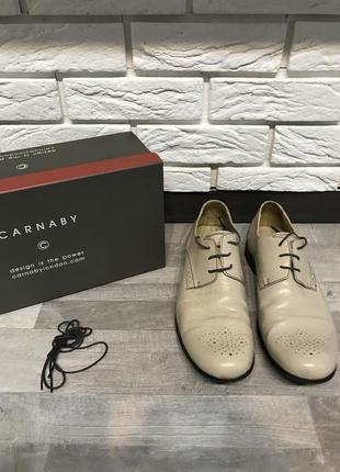 Мужские туфли ручной работы carnaby