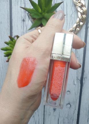 Жидкая помада для губ maybelline new york color elixir тон 500