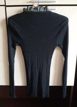 Шелковая шерстяная кофта блуза artimaglia италия4 фото