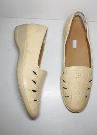 Балетки женские туфли мокасины 39 40 размер