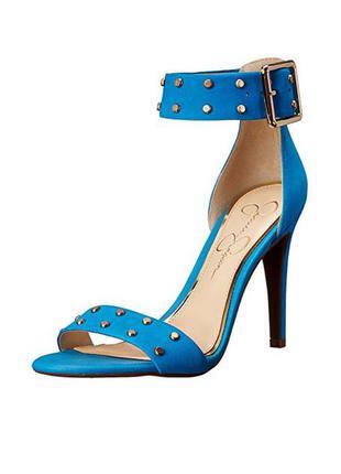 Jessica simpson оригинал открытые кожаные босоножки на шпильке бренд из сша 37,5 и 39