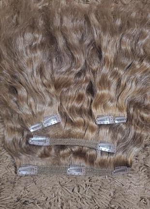 Тресс на клипсах ( волосы на заколках)