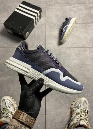 🔥 кросівки adidas zx 500 rm violet.