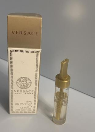 Versace pour femme пробник оригинал