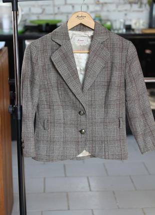 Классный укороченный пиджак