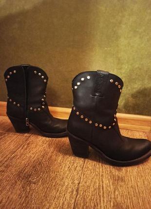Кожаные ковбойские казаки sancho boots