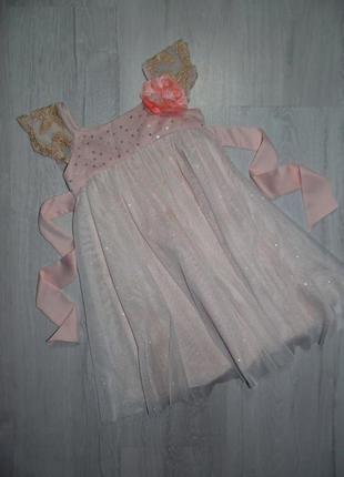 Платье monsoon 1,5-2г