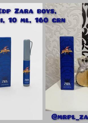 Парфюмированная вода духи парфюм зара оригинал zara spider man