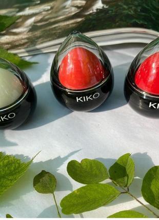 Тонирующий увлажняющий бальзам для губ kiko milano