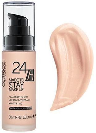 Catrice 24h made to stay make up тональная основа