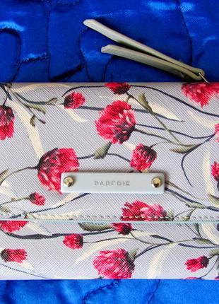 Новый вместительный кошелёк в цветы от parfois1
