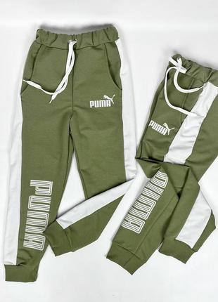 Подростковые штаны (со стрейчевыми манжетами).