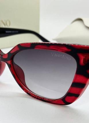 Valentino стильные женские солнцезащитные очки, очки женские valentino