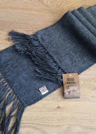Новый шарф inkita шерсть бирка
