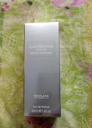 Парфюмерная вода giordani gold white original oriflame
