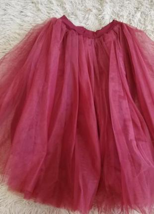 Фатиновавая юбка-пачка