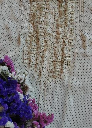 Блузка в горошек, new mellenium