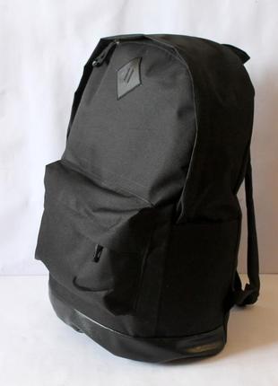 Городской рюкзак черного цвета ручная работа мужской женский унисекс от производителя черный прогулочный трендовый ранец