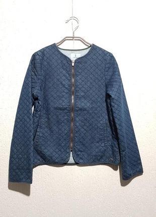 Джисова куртка-піджак okaidi для дівчинки 12р (152см)