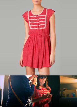 Free people чайное платье в горошек с кружевными деталями лолита babydool кантри