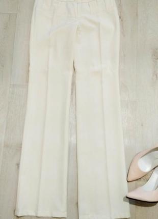 Классические светлые брюки