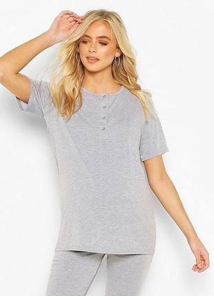 Пижамная футболка boohoo