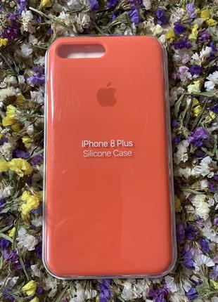 Роскошный силиконовый чехол на айфон для iphone 7/8 plus